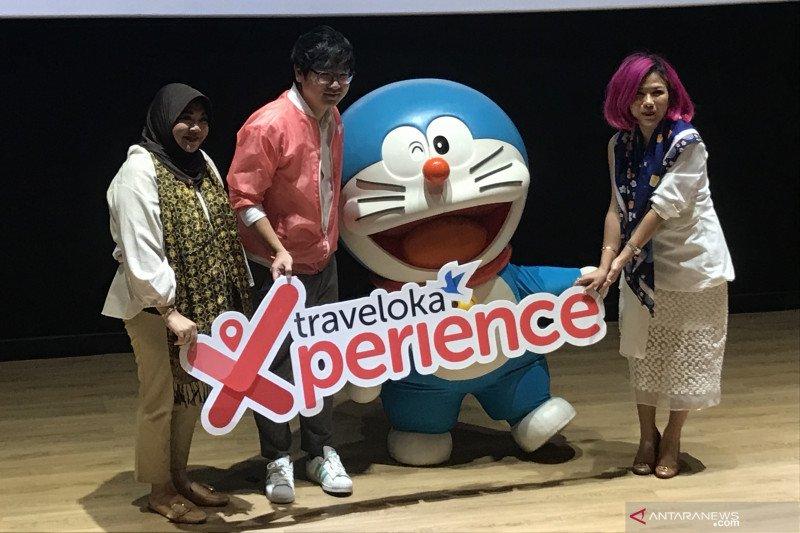 Doraemon jadi ikon promosi liburan akhir tahun Traveloka