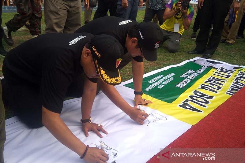 UMP-Pemuda Muhammadiyah deklarasikan antimafia bola