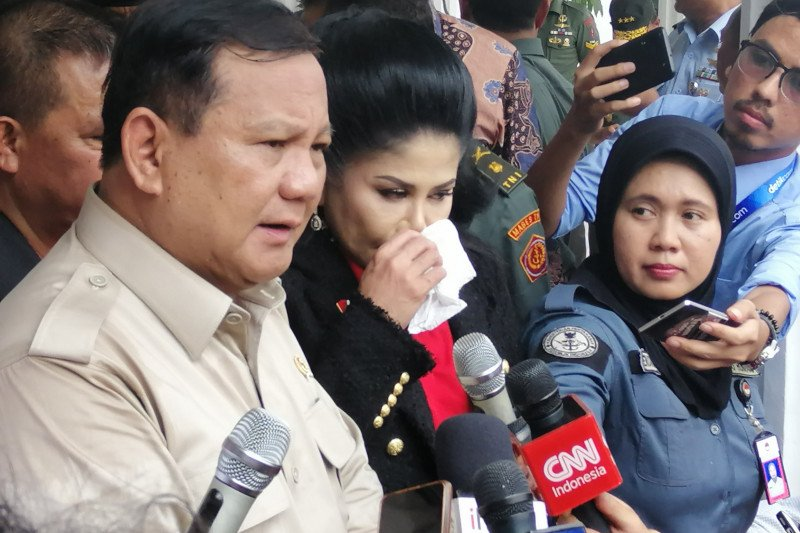 Ledakan granat asap di Monas, Prabowo: tunggu hasil penyelidikan