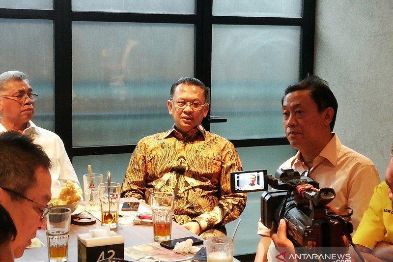 Bamsoet akui legawo mundur sebagai calon ketua umum Golkar