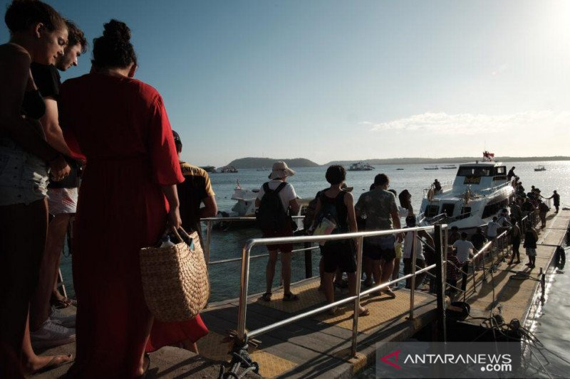 1,35 juta wisman kunjungi Indonesia selama Oktober 2019