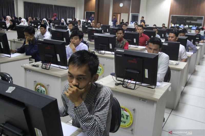 Sebanyak 852 peserta tes CPNS Pekanbaru gugur hingga hari kelima