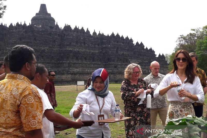 Putri Mahkota Denmark apresiasi kelestarian Borobudur