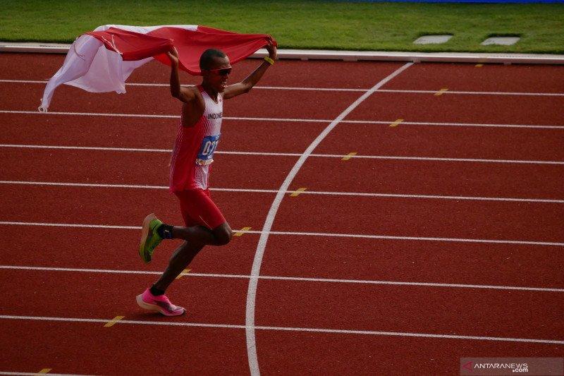 Agus Prayogo persembahkan emas pertama atletik
