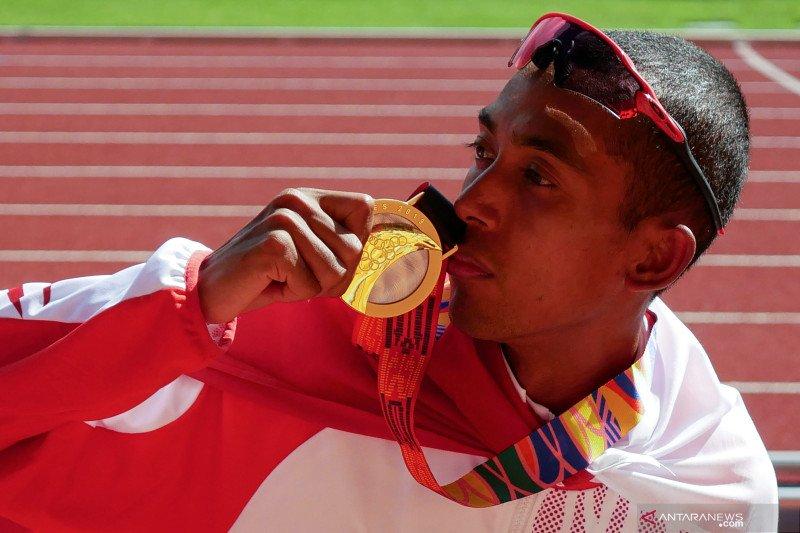 Agus Prayogo rebut medali perak lari 10.000 meter