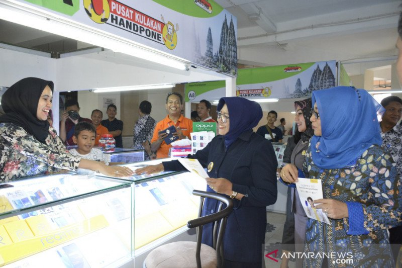 Wabup Sleman resmikan pusat kulakan HP dan elektronik di Pasar Prambanan