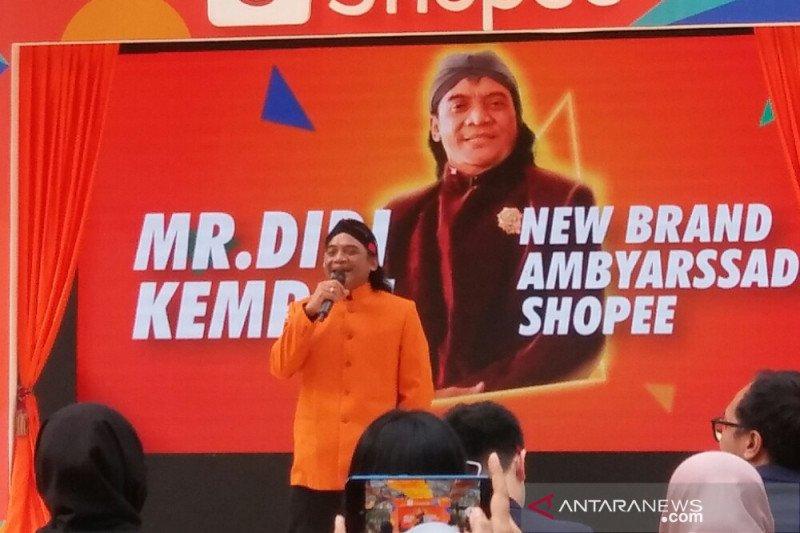 Didi Kempot jadi duta merek e-commerce asing