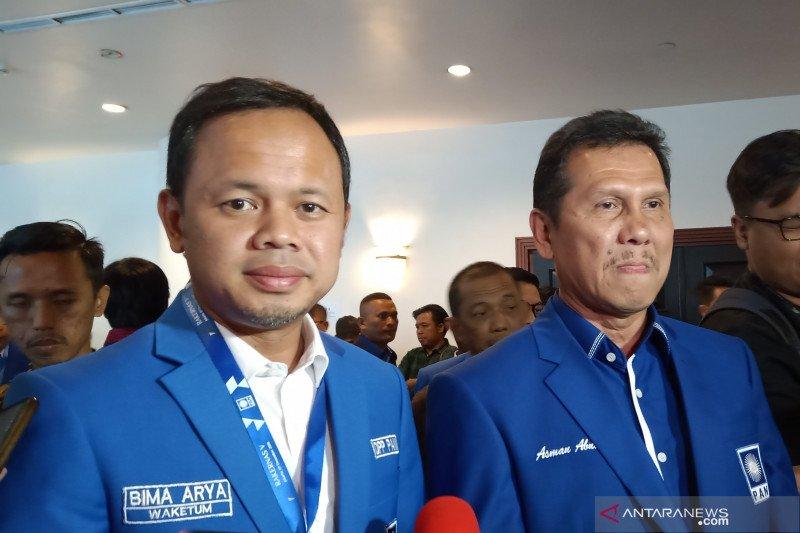 Asman Abnur deklarasi maju sebagai calon Ketua Umum PAN 2020-2025
