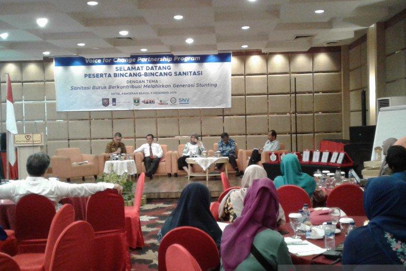 Keterlibatan lintas sektoral penting dalam program sanitasi di Sumbar
