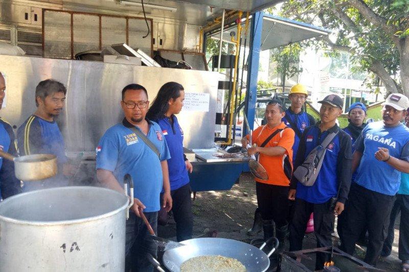 BPBD Sleman dirikan dapur umum untuk relawan angin kencang