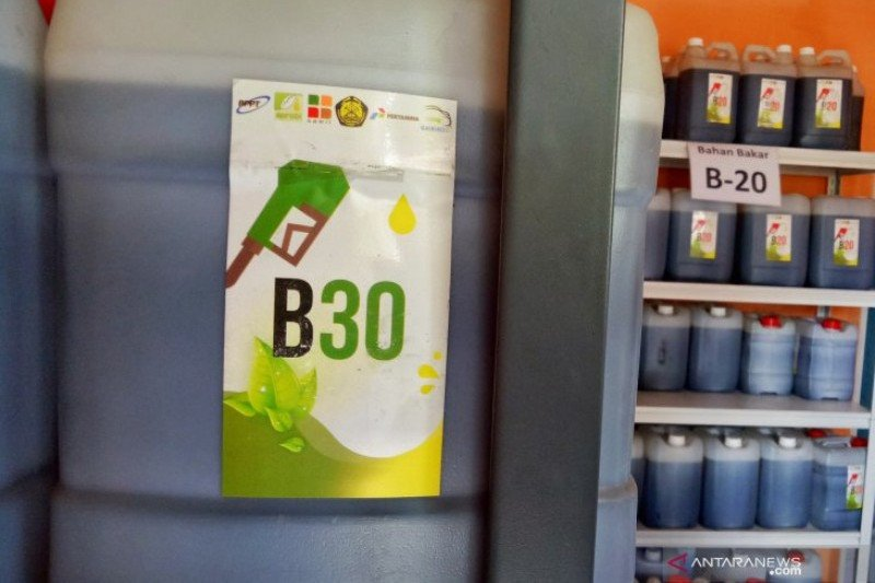 Harga biodiesel bulan April jadi Rp8.019/liter
