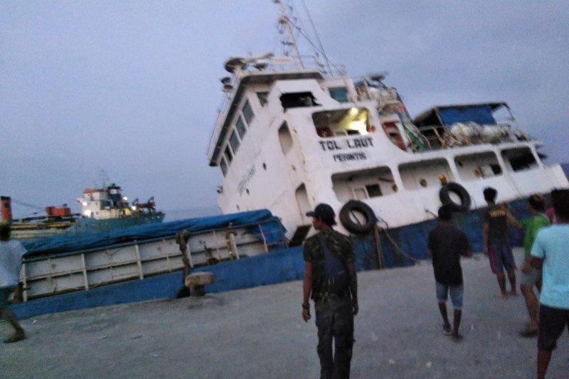 Kapal tol laut Shippo 16 tenggelam ditabrak KM Maju di NTT