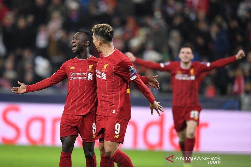 Liverpool pecundangi Salzburg sekaligus menyingkirkannya menuju 16 besar Liga Champion