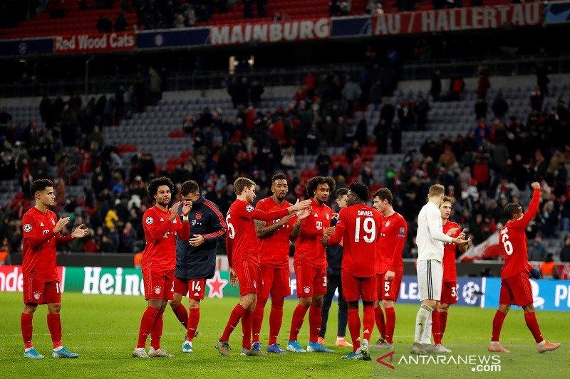 Bayern untuk pertama kalinya sapu bersih kemenangan grup Liga Champions