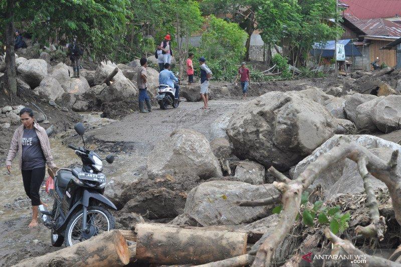 Wilayah Sigi paling sering dilanda banjir dan longsor