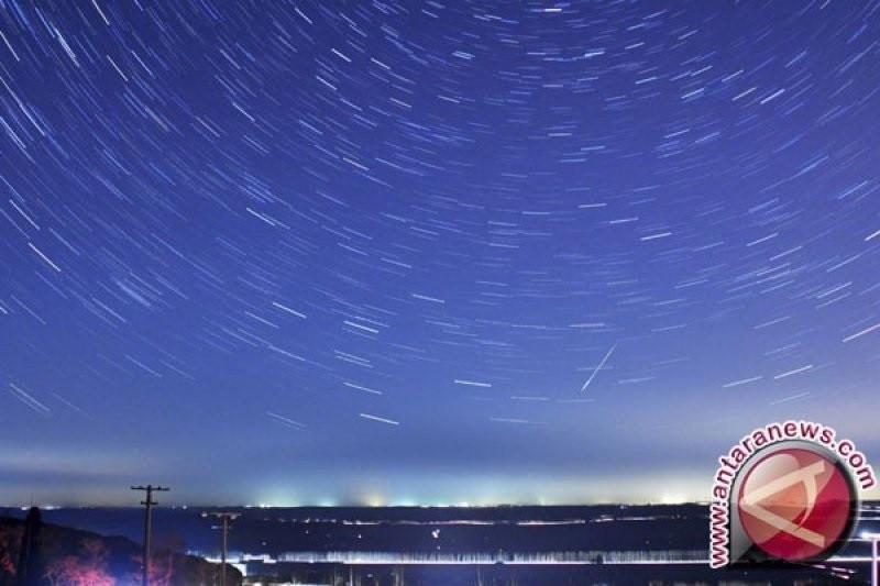 Lapan: Puncak hujan meteor teramati tengah malam sampai subuh
