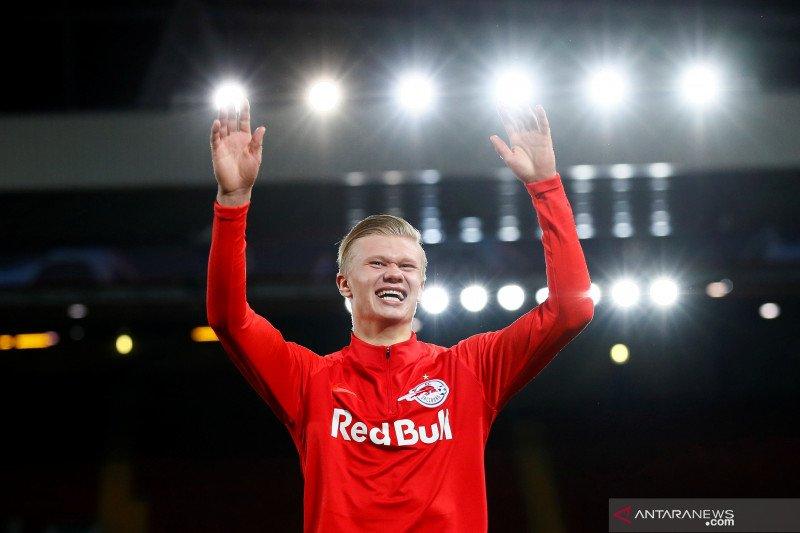 Manchester United jadi pilihan utama bagi Erling Haaland bila tinggalkan Salzburg