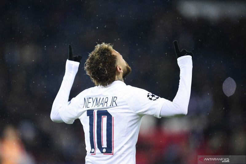 Neymar kalahkan CR7 dan Messi sebagai atlet top pria versi Twitter 2019
