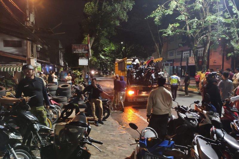 Polisi amankan 40 unit motor milik geng motor