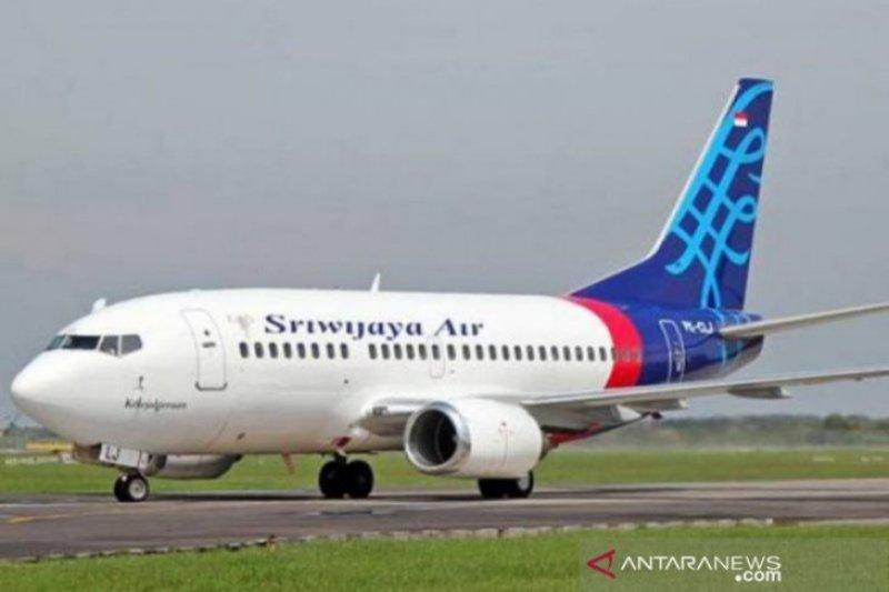 Sempat tertunda lama, Sriwijaya rute Yogyakarta-Makassar akhirnya terbang