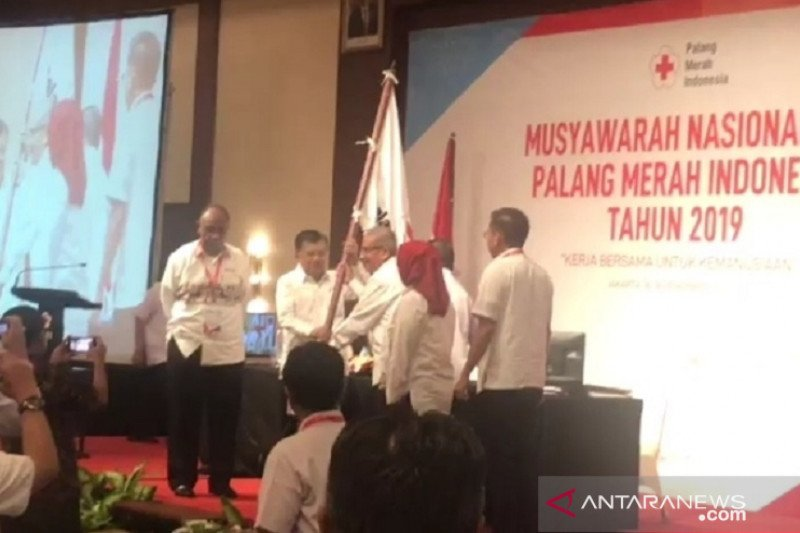 Jusuf Kalla terpilih kembali Ketua Umum PMI