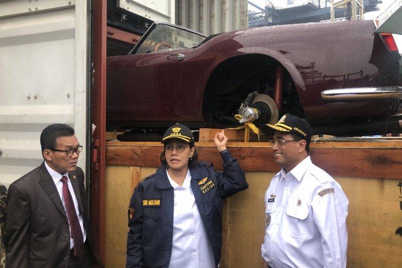 Kasus penyelundupan kendaraan mewah merugikan negara Rp48,82 miliar