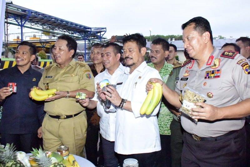 Menteri Pertanian lepas ekspor komoditas pertanian Lampung senilai Rp181 miliar