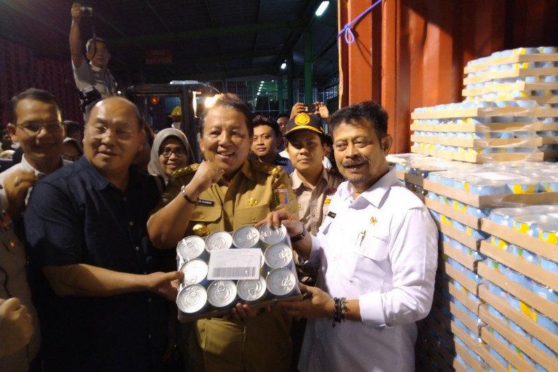 Mentan dorong Lampung pengekspor nanas terbesar di dunia