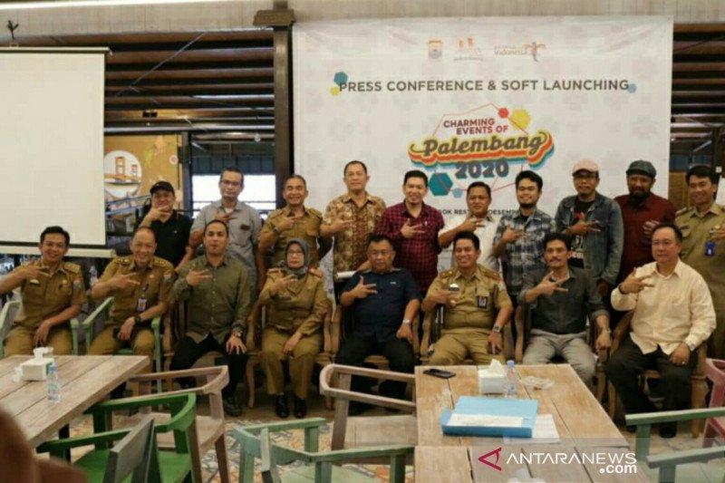 Palembang bidik 2,2 juta wisatawan lewat 100 event pariwisata  2020