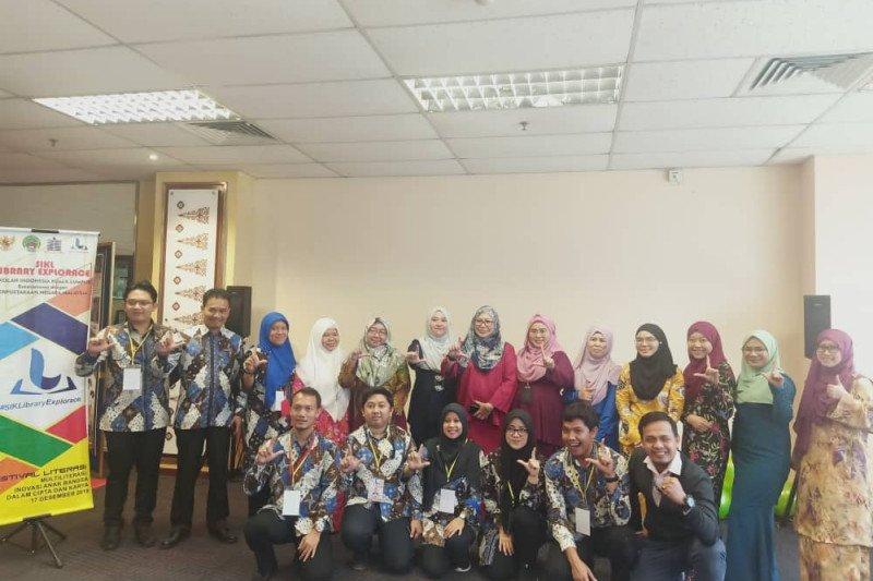 "Siswa Sekolah Indonesia ""library explorace"" ke Perpustakaan Negara Malaysia"