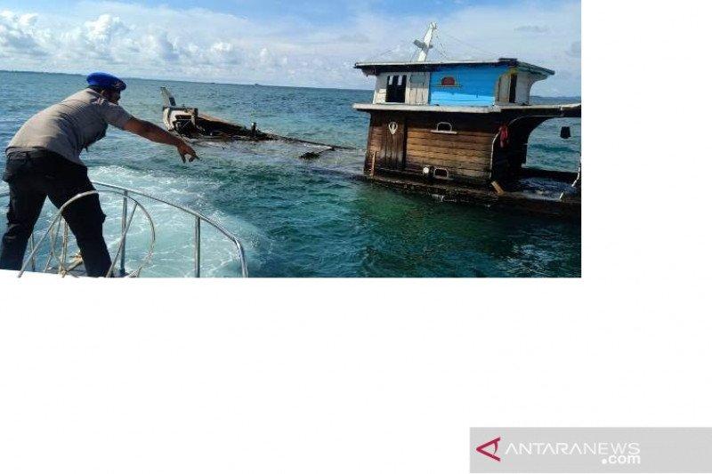 Alami kerusakan mesin, kapal pengangkut elpiji dari Belitung menuju Pangkal Pinang tenggelam