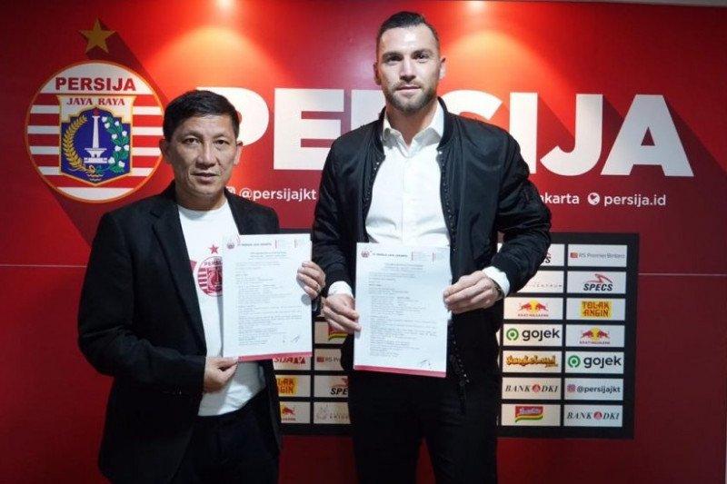 Marko Simic resmi perpanjang kontrak dengan Persija Jakarta selama tiga tahun
