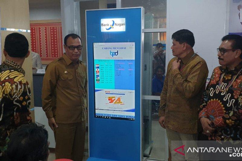 Wisman ingin tukar mata uang di Mentawai, datang saja ke Bank Nagari Taupeijat