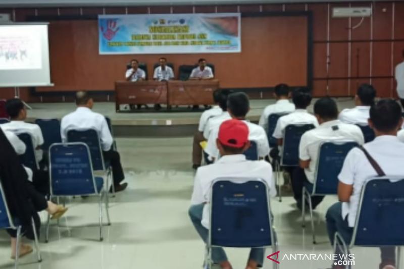 BNN Sultra sosialisasi bahaya narkoba pada Dinas SDA dan Bina Marga