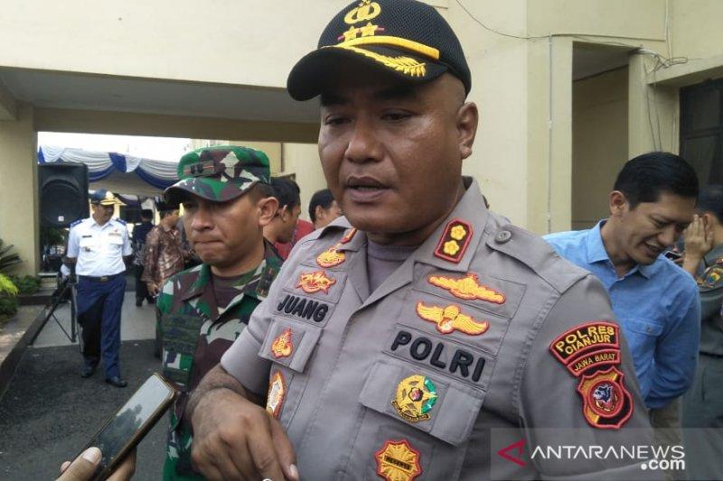 1.115 personel Polres Cianjur diturunkan amankan Natal dan Tahun Baru