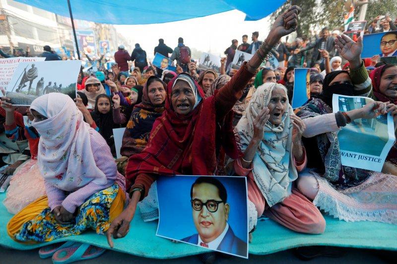 Ribuan pengunjuk rasa ditangkap tolak UU kewarganegaraan India