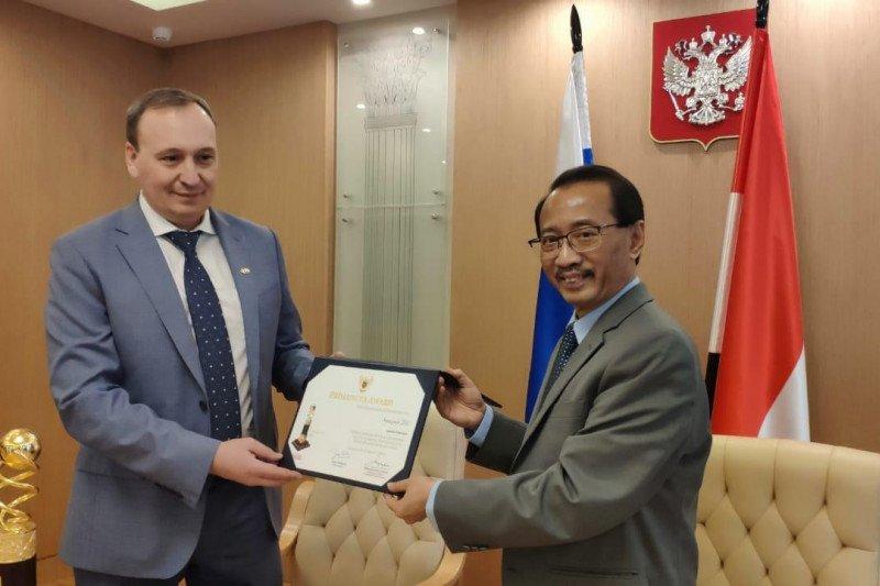 Perusahaan Rusia raih Primaduta Award dari Pemerintah Indonesia