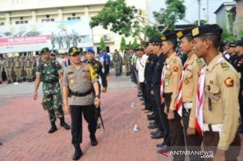1.963 personel gabungan jaga keamanan Natal dan Tahun Baru di Bekasi