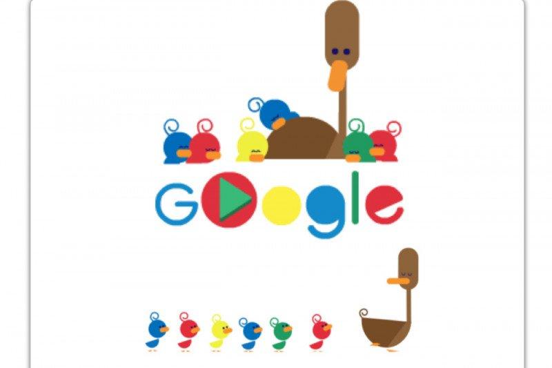 Cara Google merayakan Hari Ibu
