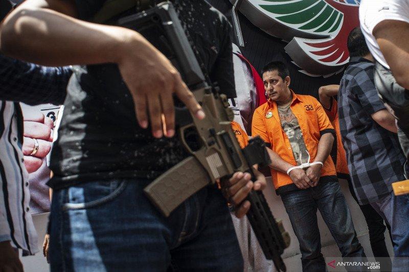Medina Zein ditahan  Polda Metro Jaya