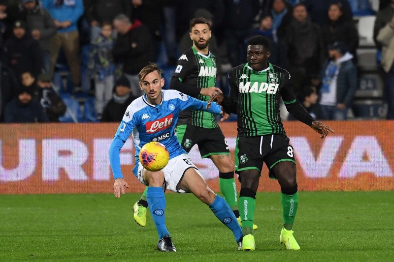 Napoli akhiri puasa kemenangan usai tundukkan Sassuolo 2-1