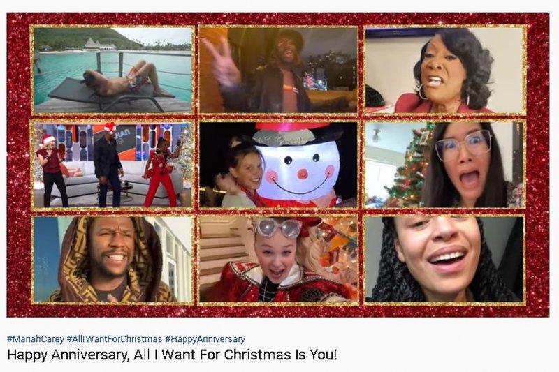 Deretan musisi ikut ramaikan video 'All I Want For Christmas Is You'