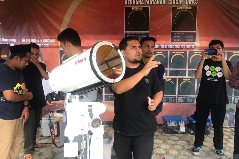 Jelang gerhana Matahari, BMKG: Cuaca bakal cerah berawan