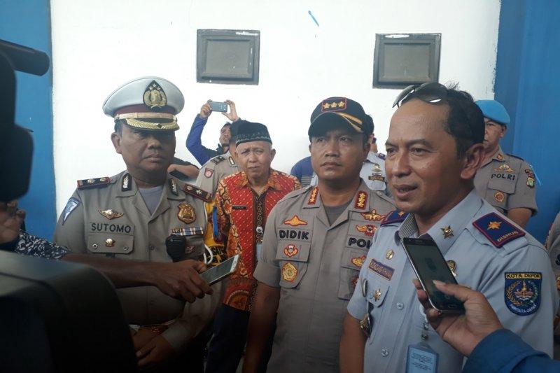 250 personel Dishub ikut jaga kelancaran Natal dan Tahun Baru di Depok