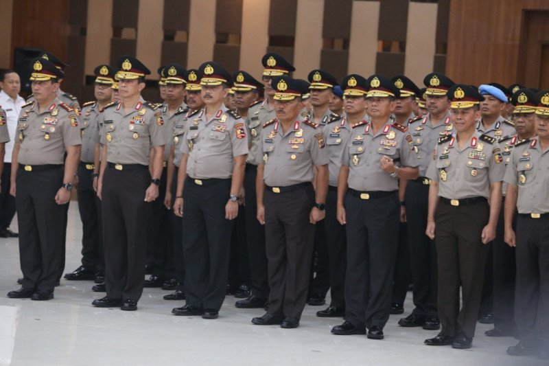 Kabareskrim Polri naik  pangkat jadi komisaris jenderal