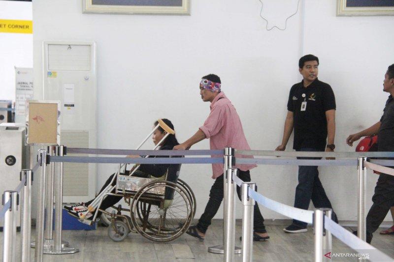 Pekerja migran lumpuh dideportasi dari Malaysia
