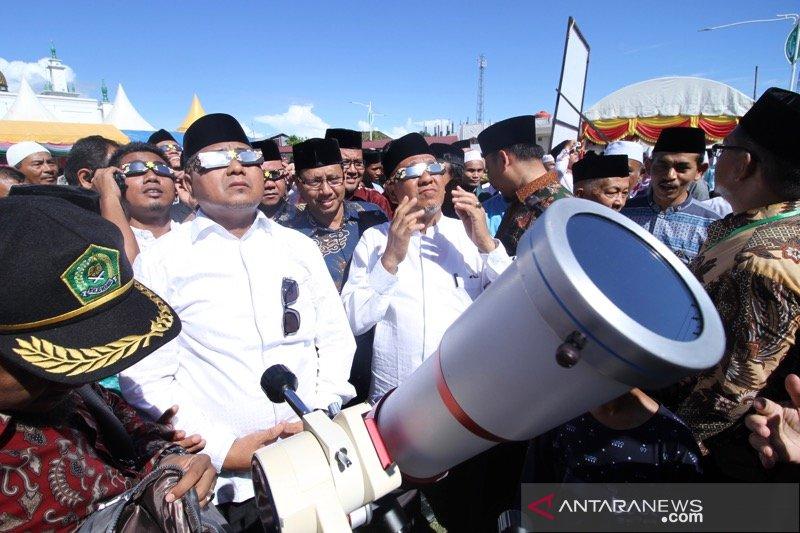 Peringatan 15 tahun tsunami bersama gerhana matahari cincin