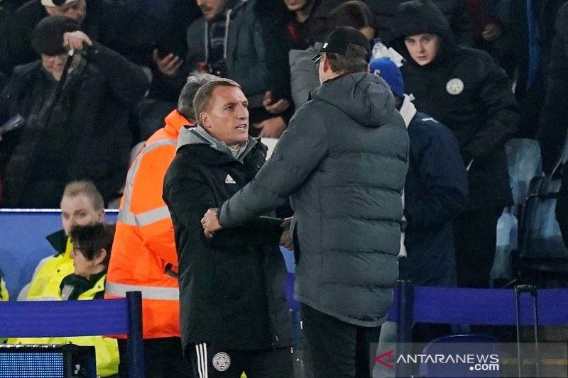 Rodgers harapkan Vardy tampil di semifinal leg kedua lawan Aston Villa