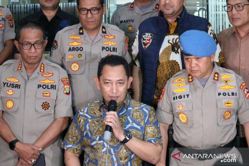 Listyo Sigit Prabowo diajukan sebagai calon Kapolri