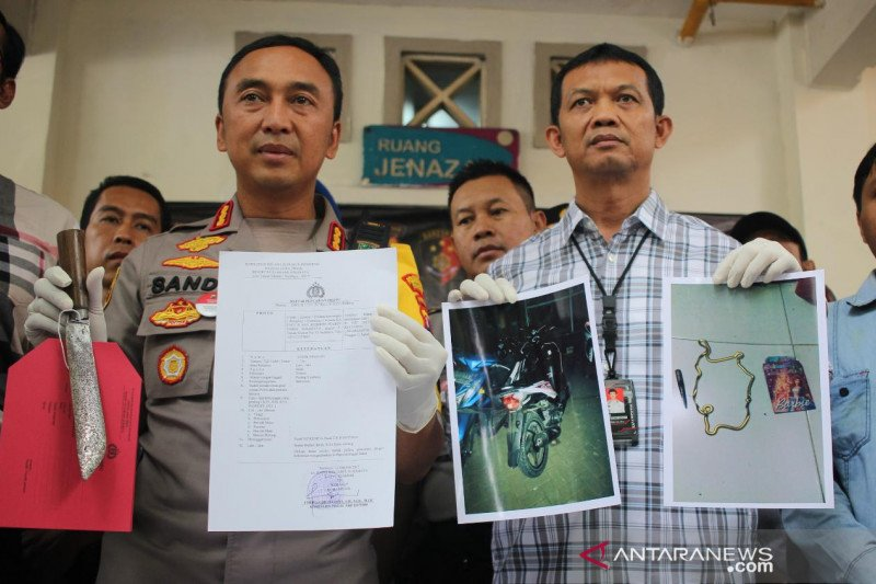 Polisi tembak mati pembunuh janda pemilik warung kopi